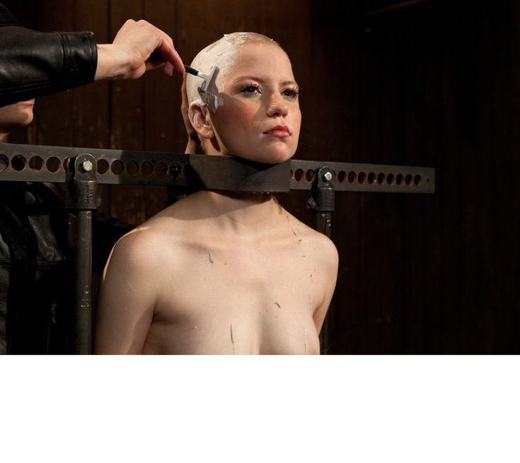 forced to be naked alopecia bald head