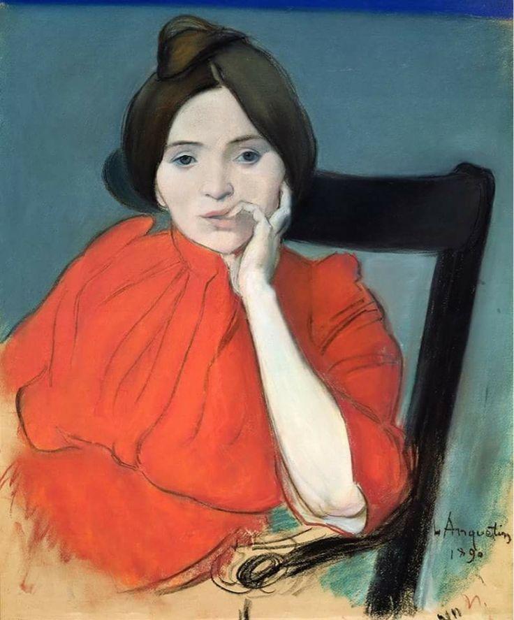 Louis Anquetin Portrait of a Woman, 1890
