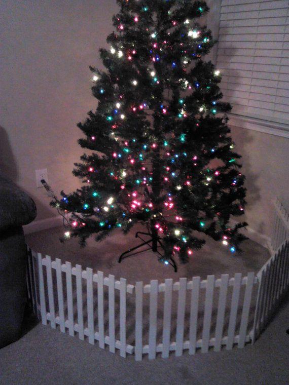 The 25 Best Christmas Tree Fence Ideas On Pinterest