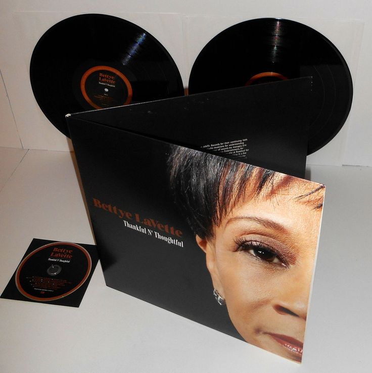 BETTYE LaVETTE thankful n' thoughtful DOUBLE Lp Vinyl Record with Bonus CD #SingerSongwriter