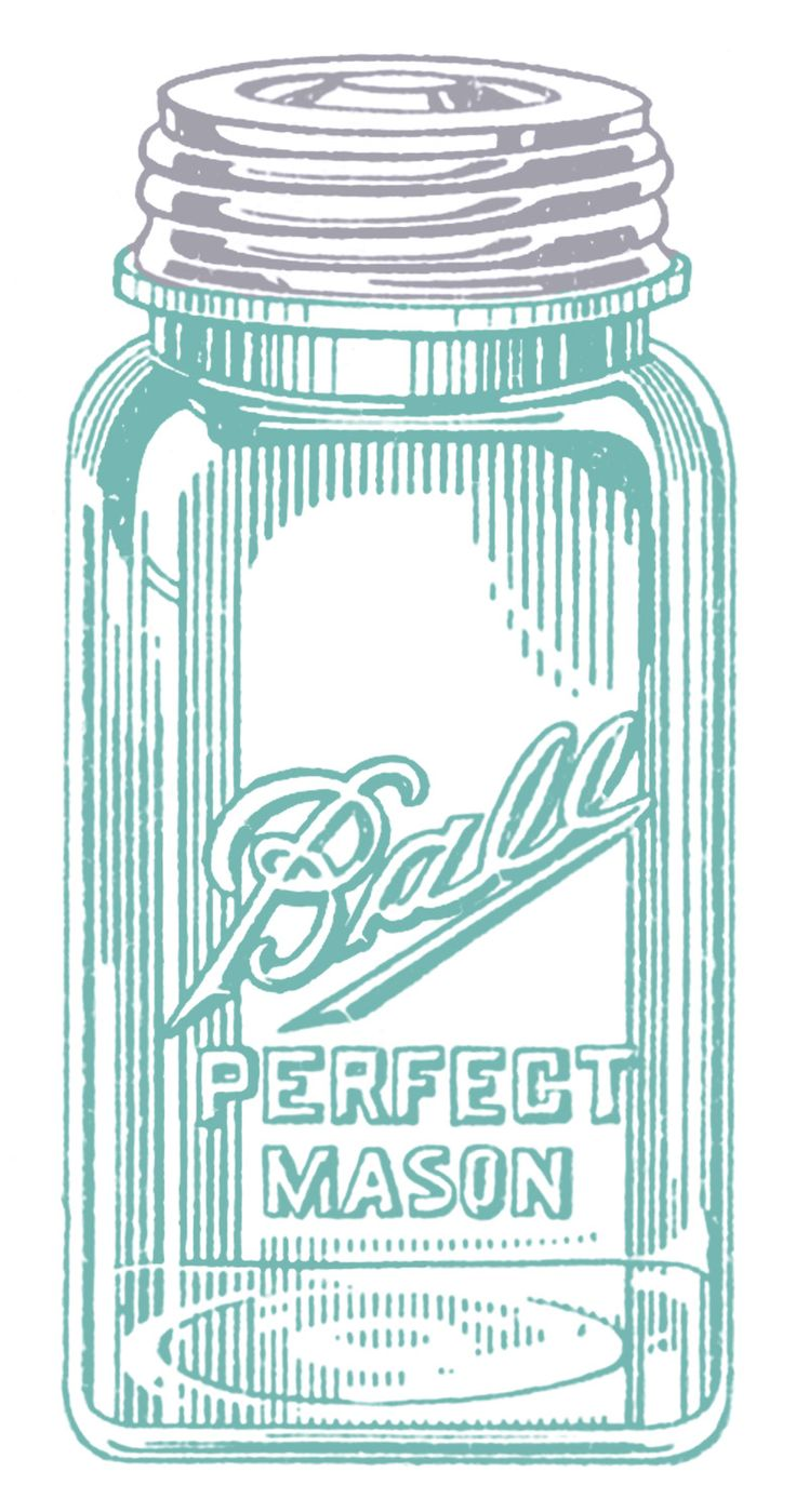 *The Graphics Fairy LLC*: Vintage Clip Art - Mason Jars: Ball Jars, Vintage Clip Art, Canning Jars, Jars Labels, Clipart, Ball Mason Jars, Mason Jars Art, Graphics Fairies, Vintage Image