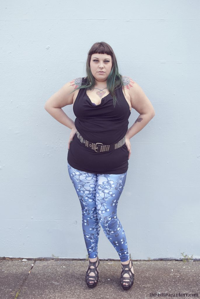 Fat Girls Shouldnu0026#39;t Wear Stripes Cassie Ace | Plus Size Fashion Trousers Leggings and Tights ...