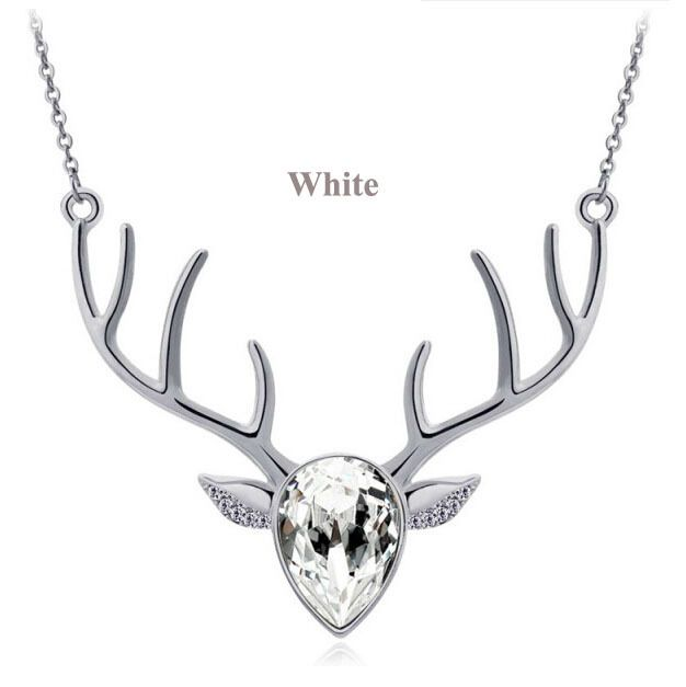 Southern Sisters Designs - Silver Deer Antler Pendant Necklace with Clear Gem, $15.00 (http://www.southernsistersdesigns.com/silver-deer-antler-pendant-necklace-with-clear-gem/)