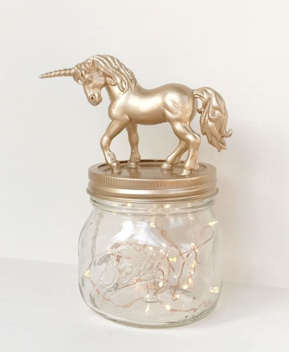 Hey, I found this really awesome Etsy listing at https://www.etsy.com/uk/listing/498705788/unicorn-night-light-mason-jar-gold