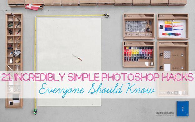 21 Incredibly Simple Photoshop Hacks Everyone Should Know