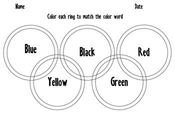 color the olympic rings our favorite olympic events class book if i went to the olympics class book olympic torch drawing our favorite olympic events graph