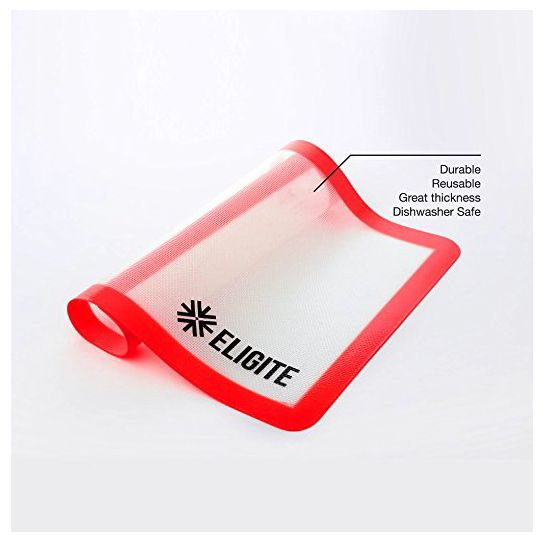 Silicone Baking Sheet, Non Stick and Heat-Resistant – Reusable, Dishwasher Safe