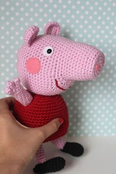 crochet peppa pig blanket - Google Search