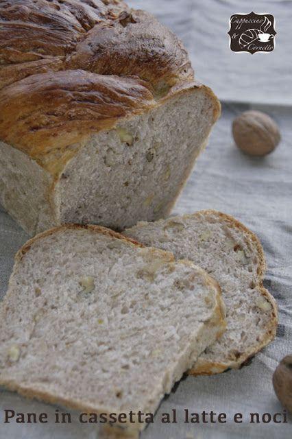 Pane con latte e noci