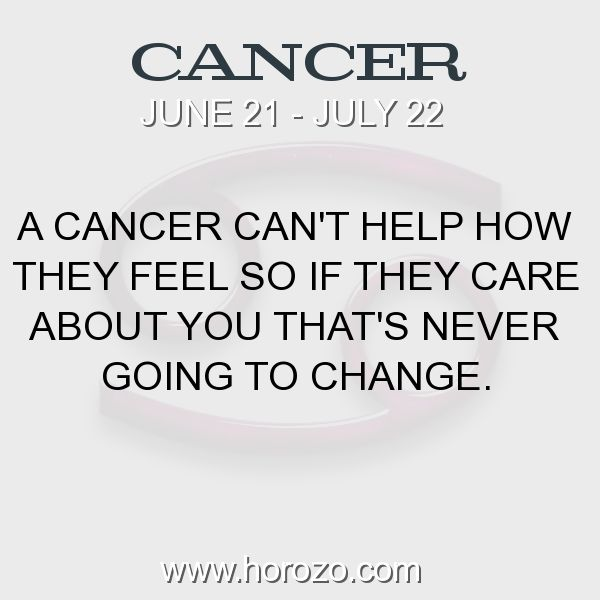 Fact about Cancer: A Cancer can't help how they feel so if they care about... #cancer, #cancerfact, #zodiac. More info here: https://www.horozo.com/blog/a-cancer-cant-help-how-they-feel-so-if-they-care-about/ Astrology dating site: https://www.horozo.com