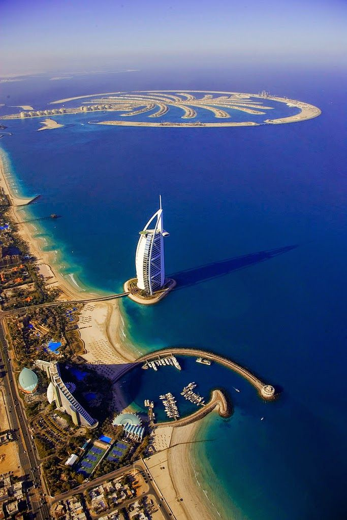 Attractive Destinations in Dubai - Burj Al Arab