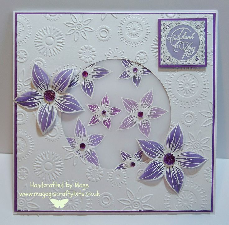 Using a stamp set from Honey Doo Crafts