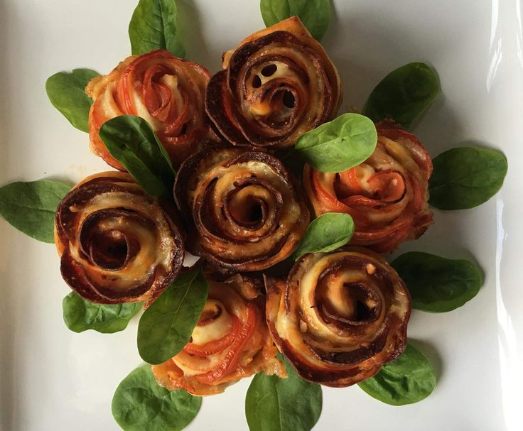 Valentine's Pizza Roses | Official Thermomix Recipe Community