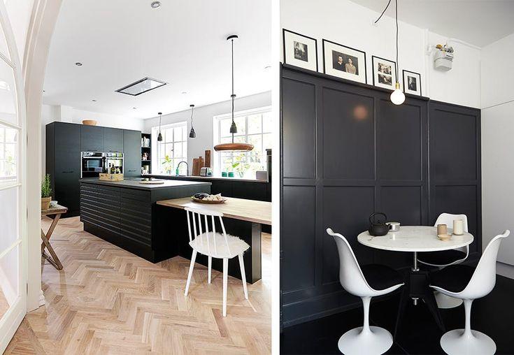 Det høres dramatisk ut, men et svart kjøkken kan bli både tidløst og trendy. Bli med inn i 10 inspirerende hjem som har knekt koden!