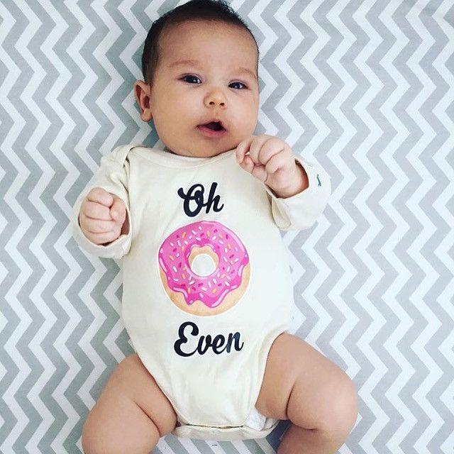 Oh Don't Even, Donut, Doughnut, Baby, Boy, Girl, Unisex, Gender Neutra – Urban…