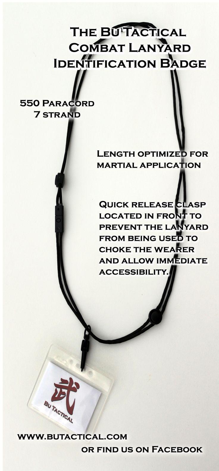 Bu Tactical Combat Lanyard ID Badge Id badge, Badge, 550