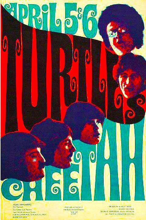 The Turtles at The Cheetah Club, Chicago 1968 | Top ...