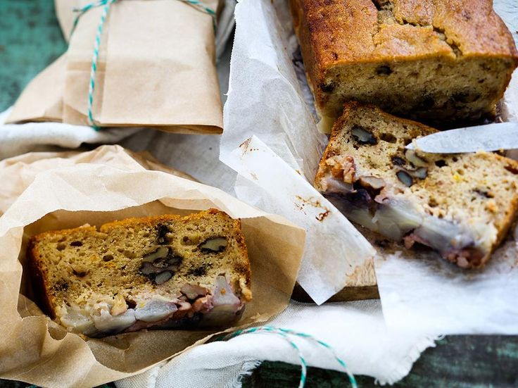 Recipe: Fresh ginger, Apple and Walnut Loaf - Try Angela Casley's delicious…