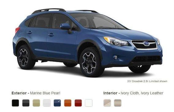 Xv Crosstrek Marine Blue Pearl Subaru Crosstrek Subaru Subaru Cars