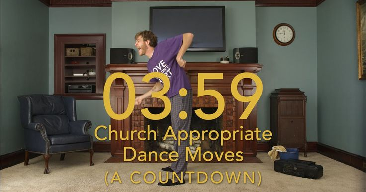 Just a little reminder that we all should dance… even if it's just for the pre-church countdown.  If you are interested in purchasing this video or any Church…