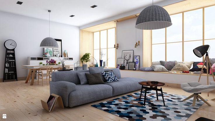 Salon styl Skandynawski - zdjęcie od Archiinside - Salon - Styl Skandynawski - Archiinside