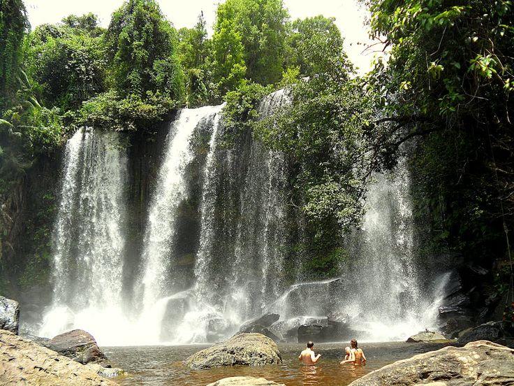 phnom kulen national park   Panoramio - Photo of Waterfall, Phnom Kulen National…