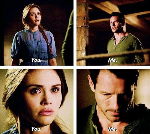 Teen Wolf: Lydia and Peter Hale...