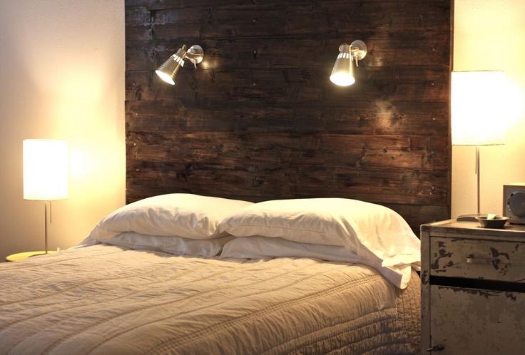 Wood Headboard Tutorial Diy Pinterest Stains