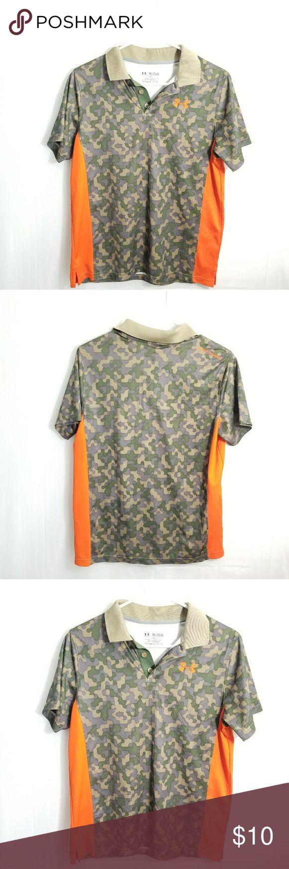 Under Armour boy polo shirt Sz XL short sleeve Under Armour boy polo shirt Sz XL short sleeve Under Armour Shirts & Tops Polos