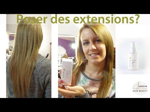 Poser des Extensions Cheveux Balmain - YouTube