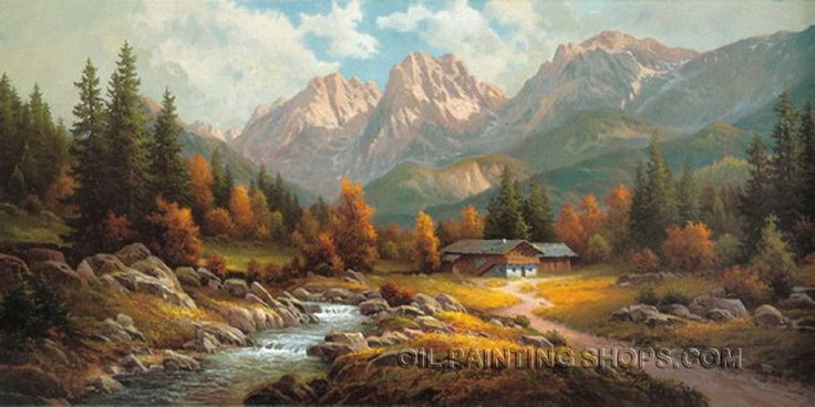 "Wall Art Decoration Ideas Online Art Buy Paintings Reproduction Famous Landscape Painting, Size: 48"" x 24"", $145. Url: http://www.oilpaintingshops.com/wall-art-decoration-ideas-online-art-buy-paintings-reproduction-famous-landscape-painting-2154.html"