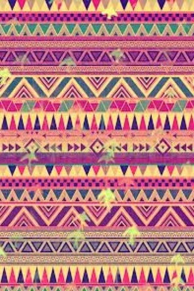 Aztec Print Painting