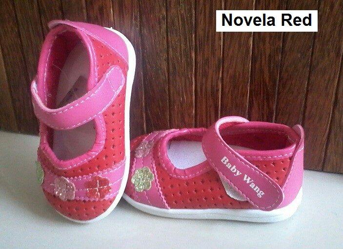 #Sepatu Anak Baby Wang (Novela red) ~ 105ribu ~ Size : Ukuran Sol dalam (panjang kaki anak) : No. 3 : Sol 13cm (Umur 1 - 1,5 thn) No. 4 : Sol 13,5cm (Umur 1,5 - 2thn) No. 5 : Sol 14cm (Umur 2 - 2,5 thn) No. 6 : Sol 14,5cm (Umur 2,5 - 3thn)