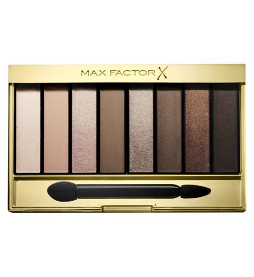 Max Factor Masterpiece Nude Palette Contouring Eyeshadows 01 Cappucino Nudes - Boots