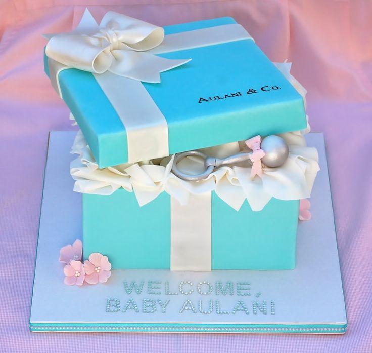Tiffany Baby Shower - this is PERFECT