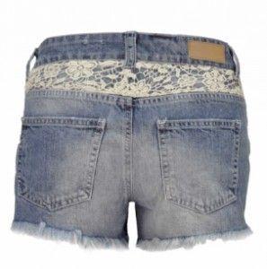 Spijkerbroek Vero Moda met kant