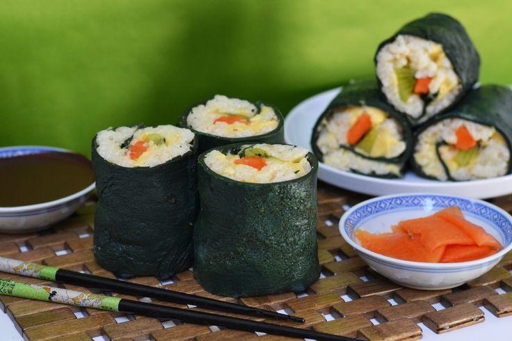 Amazing Sushi Roll Dessert (Looks Just Like Sushi)