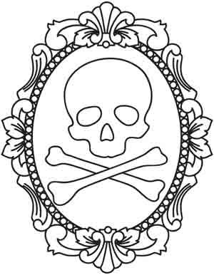 skull embroidery  wonderful doodles too check out the whole WHOLE website or even if your looking for new idea in tattoos!