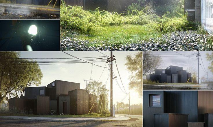 "O House by Marcin ""Neb"" Jastrzebski - 3D Architectural Visualization & Rendering Blog"