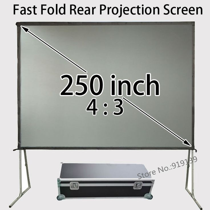 1367.82$  Watch now - http://ali946.worldwells.pw/go.php?t=32695623024 - Projector Screen Size 5.08x3.81 Meters Rear Projection Film 250inch For Outdoor Indoor Community Events Display