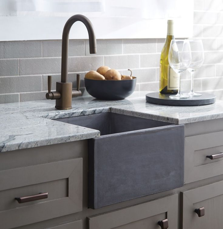 Sunken Sink || Ventana Stylish Concrete Sinks Designed To Energize The  Kitchen And Bath Industry