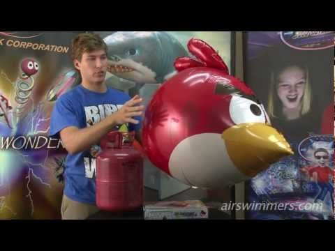 Angry Birds Air Swimmers Instructional Video - YouTube