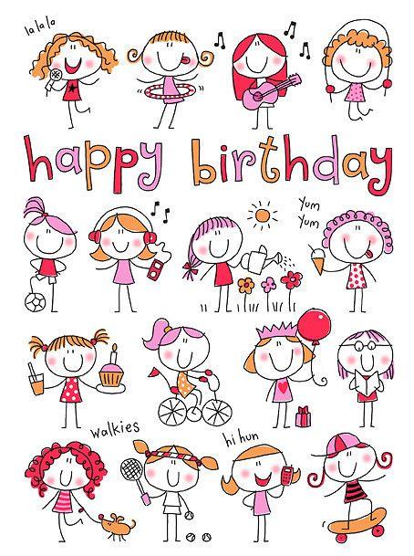 72 LITTLE GIRLS | helenpickup.blogspot.com artwork available… | HELEN PICKUP | Flickr