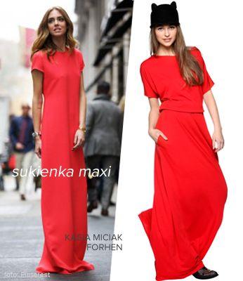Wygodnie+Stylowo NA CO DZIEŃ! Co powinno znaleźć się w Twojej szafie w tym sezonie?   KASIA MICIAK - Sukienka maxi czerwona www.saltandpepper.pl/sukienka-maxi-czerwona.html  +Buty JEFFREY CAMPBELL www.saltandpepper.pl/kowbojki-presley.html +Uszatek FORHEN  www.saltandpepper.pl/uszatek-czarny.html