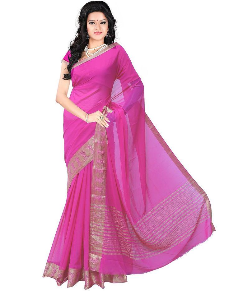 Roopkala Women Mysore Chiffon Silk Saree(DS-233,Pink): Amazon: Clothing & Accessories  http://www.amazon.in/s/ref=as_li_ss_tl?_encoding=UTF8&camp=3626&creative=24822&field-keywords=mysore%20silk%20sarees&linkCode=ur2&tag=onlishopind05-21&url=node%3D1968256031  #Mysore #Silk #Sarees