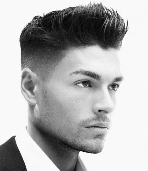 Hairstyle With High Fade