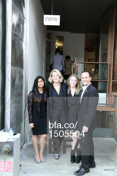 Aleena Fazli, Courtney Lukitsch, Allison Birmingham, Erick Gonzalez at ORIOR NEW YORK Debuts Contemporary Design Showroom & Studio in Williamsburg. #BFAnyc May 2015