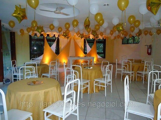 decoraç u00e3o de festa branco e dourado Pesquisa Google festa Pinterest Search -> Decoracao De Batizado Branco Com Dourado
