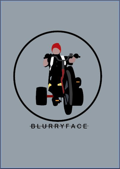 TWENTY ONE PILOTS - Twenty one pilots poster 'Stressed out/Blurryface'                                                                                                                                                                                 Mais