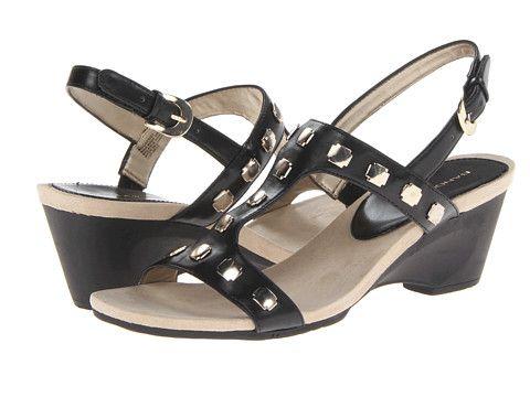 Bandolino Cassidy Black Synthetic - Zappos.com Free Shipping BOTH Ways. Cassidy  BlackShoes WomenSandalWide ...